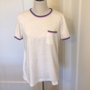 Like New J Crew speckled top